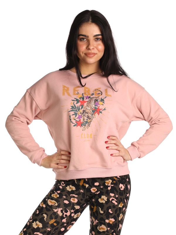 Ambika Sweater Rebel army mauve