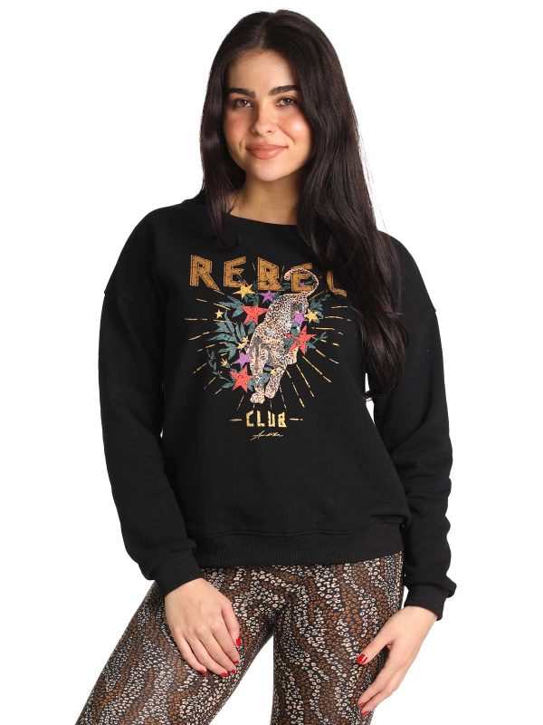 Ambika Sweater Rebel zwart
