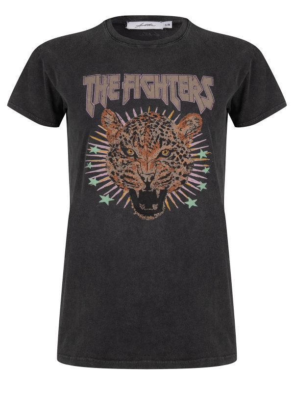 Ambika T-Shirt The Fighters Zwart