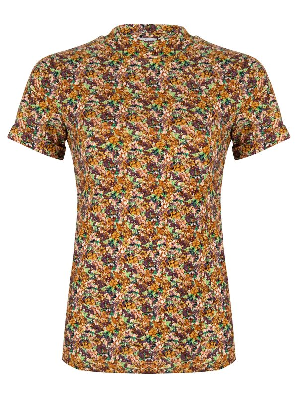 Ambika Top Mosley Flower Yellow flower